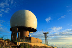 Radar station Royalty Free Stock Images