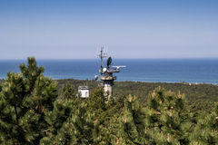 Radar station Royalty Free Stock Photos