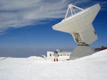 Radar sur les pentes de la sierra Nevada Photo libre de droits
