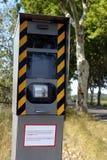 Radar sur une route française photo libre de droits