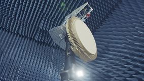 Testing a of a Radar in an anechoic chamber