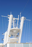 Radar Tower. Aboard a cruise ship Stock Photography