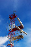 Radar tower Stock Images