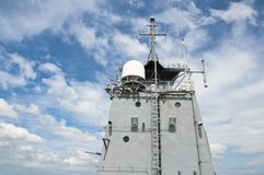 Radar tower Stock Image