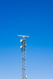 Radar tower Royalty Free Stock Image