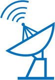 Radar translation – Vector illustration Stock Photos