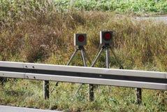 Radar trap Stock Photos
