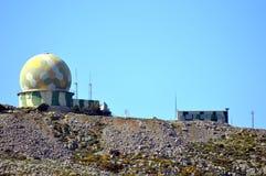 Radar tropi stację Zdjęcie Royalty Free