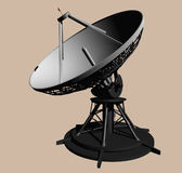 Radar Unit Side View Royalty Free Stock Photo