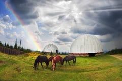 Radar USSR, Ukraine Royalty Free Stock Images