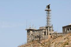 radar wojskowego tower Fotografia Royalty Free