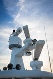Radar yach Royalty-vrije Stock Foto's