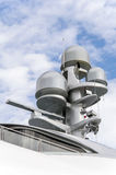 Radar on a yacht Stock Photos
