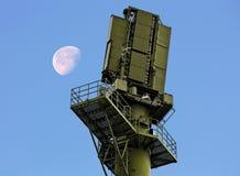 Radarfaciliteit stock afbeeldingen