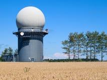 radarinstallation Royaltyfri Foto