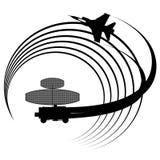 Radarowa stacja Fotografia Royalty Free