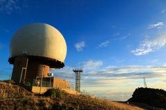 Radarowa stacja Obrazy Royalty Free
