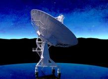 radarowy radiowy teleskop Fotografia Royalty Free