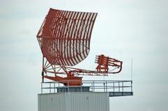 Radarplatte Stockfoto