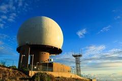 Radarpost Royalty-vrije Stock Afbeeldingen