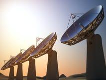Radars Stock Photo