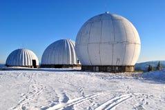 radarstation Arkivbild