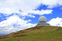 Radarstation för luftnavigering Arkivbilder
