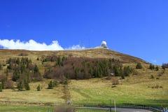 Radarstation för luftnavigering Fotografering för Bildbyråer
