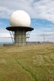 Radarstation-Haube Stockbild