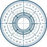 Radarwindroos Royalty-vrije Stock Afbeeldingen
