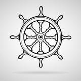 Radbootsikonen stellten groß für jeden möglichen Gebrauch ein Vektor eps10 Lizenzfreie Stockfotos