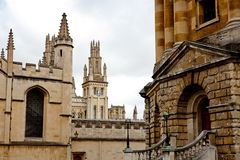 Radcliffe Camera and All Souls College. Oxford, UK Stock Images