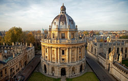 Radcliffe Camera and All Souls College. Oxford University, Oxford, UK Stock Image