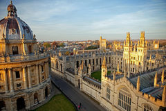 Radcliffe Camera and All Souls College. Oxford University, Oxford, UK Stock Photo
