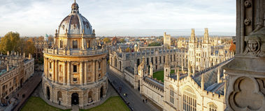 Radcliffe Camera and All Souls College. Oxford University, Oxford, UK Royalty Free Stock Photo