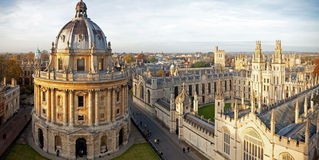 Radcliffe Camera and All Souls College. Oxford University, Oxford, UK Stock Photography