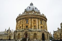 Radcliffe Camera, Bodleian Library, Oxford University, Oxford, E royalty free stock photos