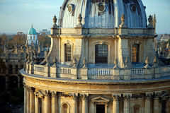 Radcliffe Camera building in close-up Stock Photo