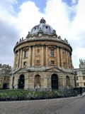Radcliffe camera in city centre oxford united kingdom. Beautiful round historic building known as the Radcliffe camera in city centre oxford united kingdom Stock Photo