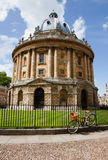 Radcliffe Camera Library Oxford. Building in Oxford, England, designed by James Gibbs in the English Palladian style and built in 1737–1749 to house the Royalty Free Stock Photos