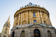Radcliffe Camera. One of the iconic buildings in Oxford Royalty Free Stock Photo