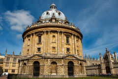 Radcliffe Camera. Oxford, England. Radcliffe Camera (part of the Bodleian Library of Oxford University). Oxford, UK Royalty Free Stock Photography