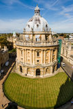 Radcliffe Camera. Oxford, England. Radcliffe Camera (part of the Bodleian Library of Oxford University). Oxford, UK Royalty Free Stock Photos