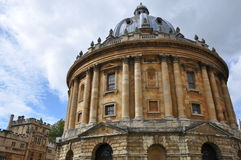 Radcliffe Camera at Oxford University Royalty Free Stock Images