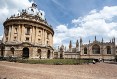 Radcliffe Camera Oxford University England Royalty Free Stock Image