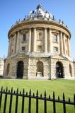 Radcliffe Camera with railings Stock Images