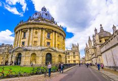 Radcliffe Camera, room addition to the Bodleian Library in Oxfor Stock Photography