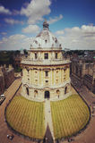 radcliffe camera, university of oxford Royalty Free Stock Images