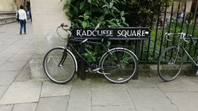 Radcliffe fyrkant Arkivbild