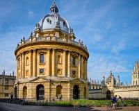 Radcliffe kamera, Oxford universitet, England Arkivfoto